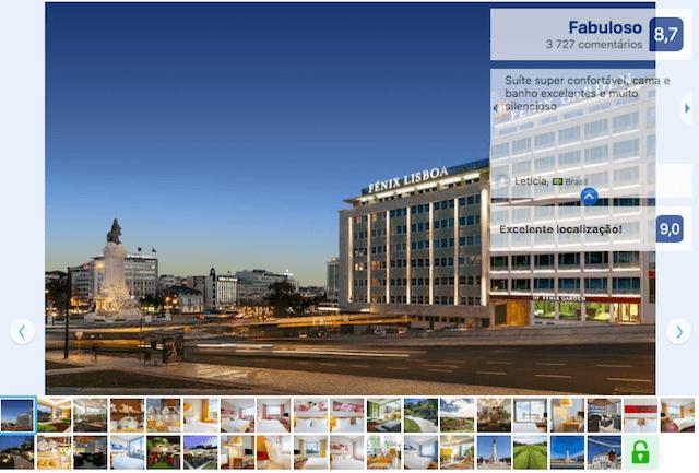 HF Fenix Garden Hotel em Lisboa