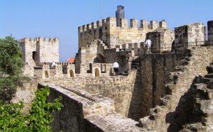 Castelo de São Jorge em Lisboa - visita