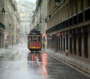 Chuva em Lisboa