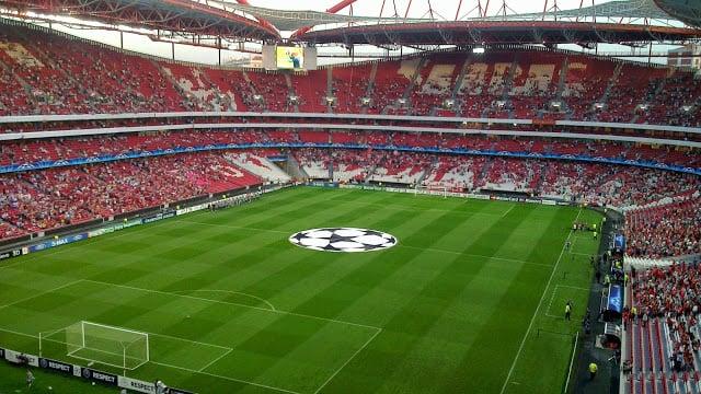 Estádio da Luz em Lisboa