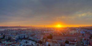 Outono em Lisboa- entardecer