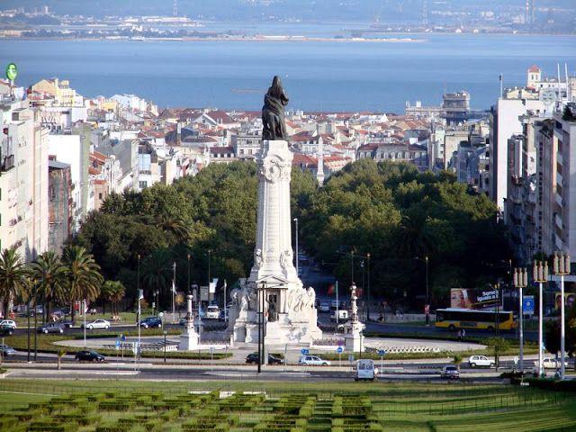 Região do Marquês do Pombal em Lisboa