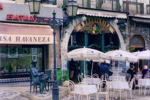 Café A Brasileira em Lisboa