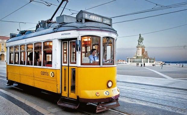 Trajeto do Elétrico 28 em Lisboa