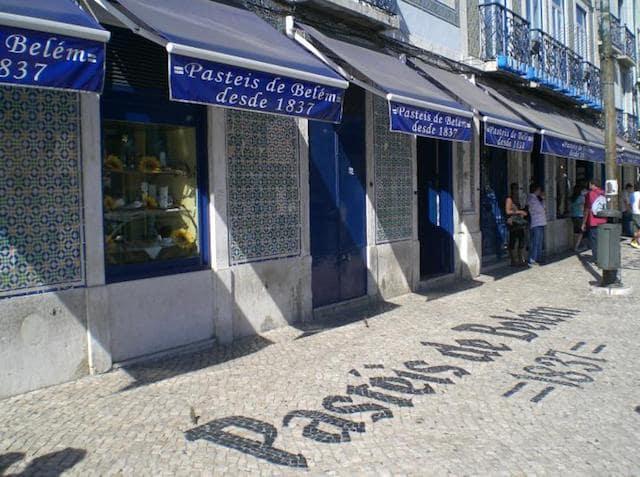 Antiga Confeitaria de Belém em Lisboa