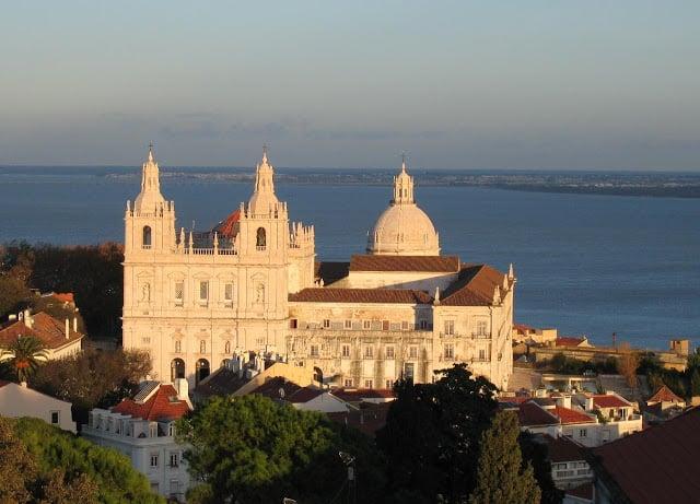 Igreja e Mosteiro São Vicente de Fora em Lisboa