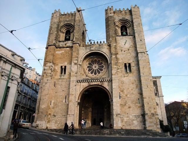 Sé de Lisboa em Portugal