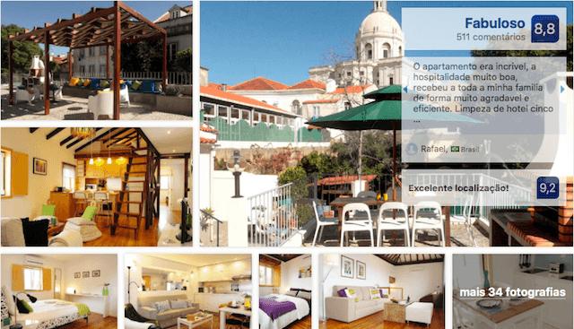 Hotel Alfama Terrace em Lisboa