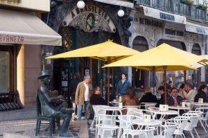 Restaurante - Café A Brasileira em Lisboa