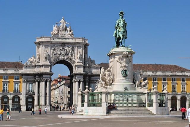Praça do Comércio em Lisboa