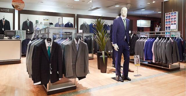 El Corte Inglés moda homem