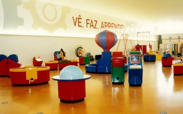 Exposição ''vê, faz, aprende'' em Lisboa