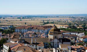 Vista da cidade de Évora