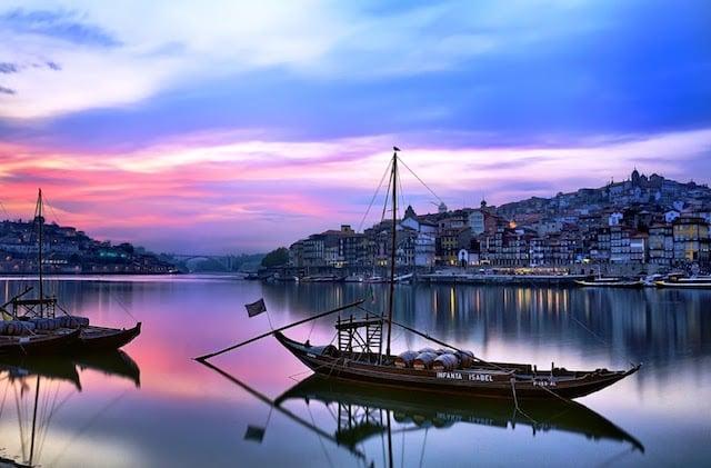 Fuso horário de Porto x Brasil