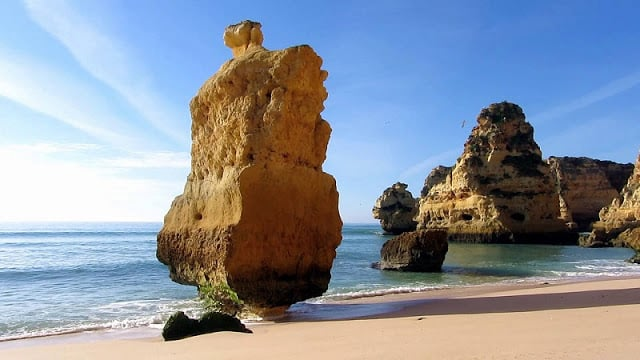 Rochas da Praia da Marinha