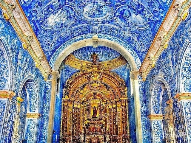 Inteirior Igreja São Lourenço de Almancil