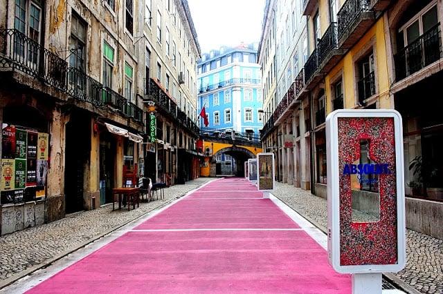 Bairro Cais do Sodré em Lisboa