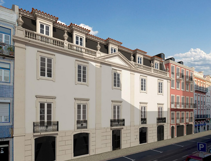 Palacete dos Anjos em Lisboa