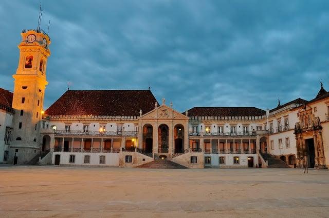 Pátio da Universidade de Coimbra