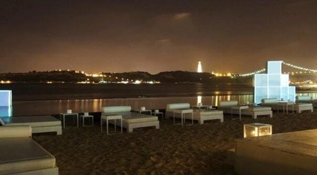 Praia e vista da K Urban Beach