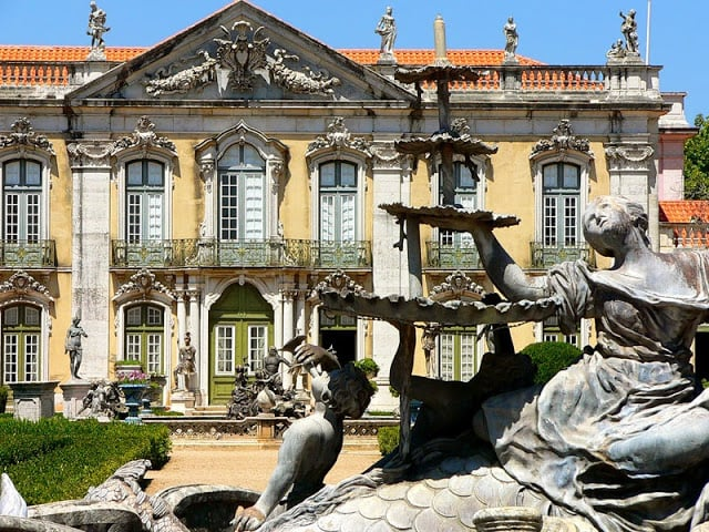 Palácio Nacional de Queluz em Sintra