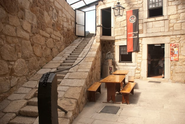 Entrada do Museu do Castelo do Queijo