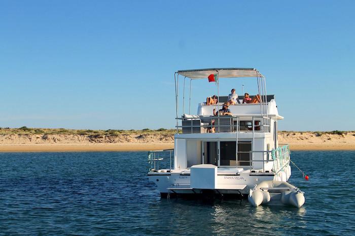 Passeio de barco pela Ria Formosa
