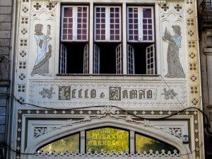 Livraria Lello no Porto