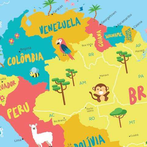 Países América do Sul