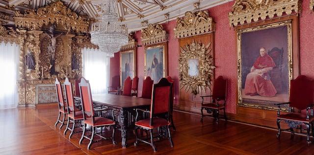 Interior Museu-Igreja São Francisco
