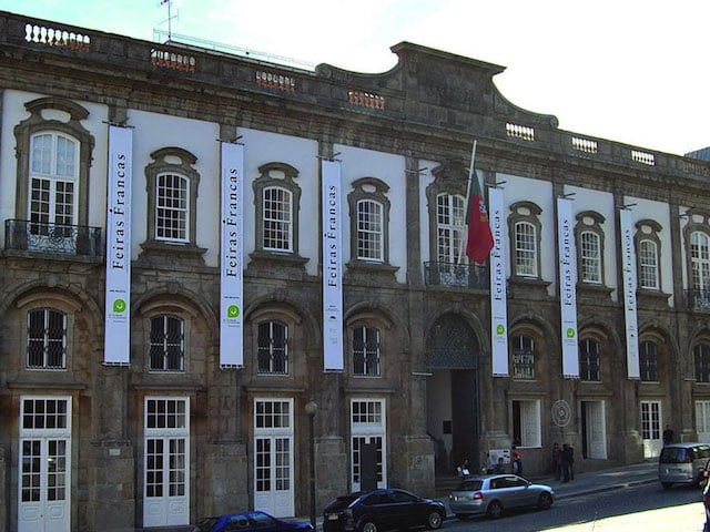 Palácio das Artes no Porto