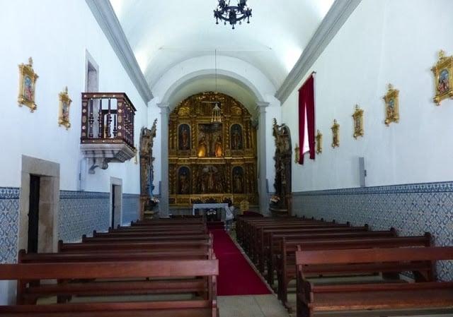 Interior da Igreja da Misericórdia