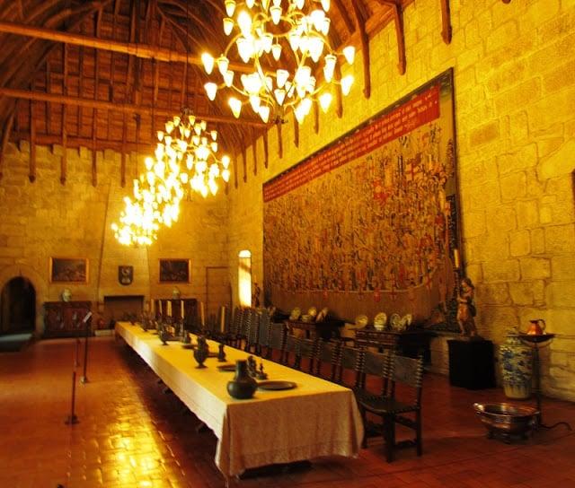 Uma das salas do Paço dos Duques
