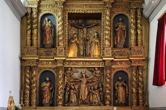 Altar-mor maneirista da Igreja da Misericórdia em Bragança