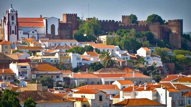 Vila de Silves no Algarve