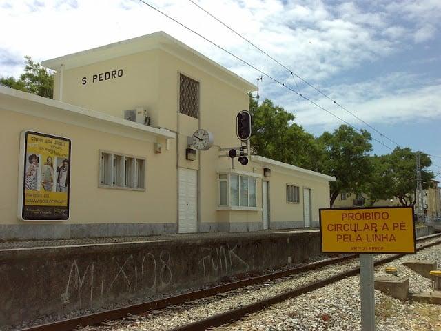 Estação de trem de S. Pedro do Estoril