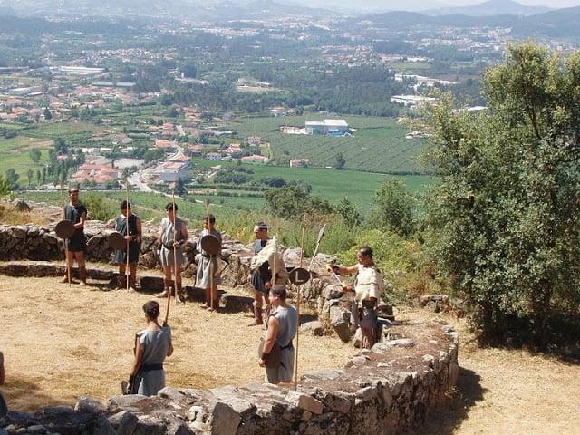 Citânia de Briteiros em Guimarães