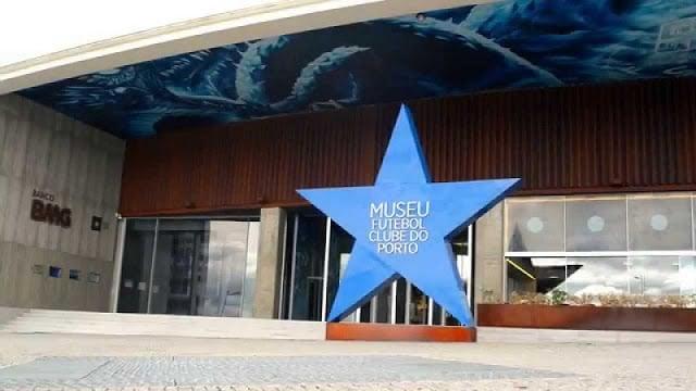 Entrada do Museu FC Porto