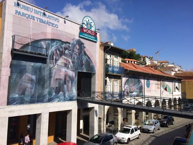 Museu World of Discoveries no Porto