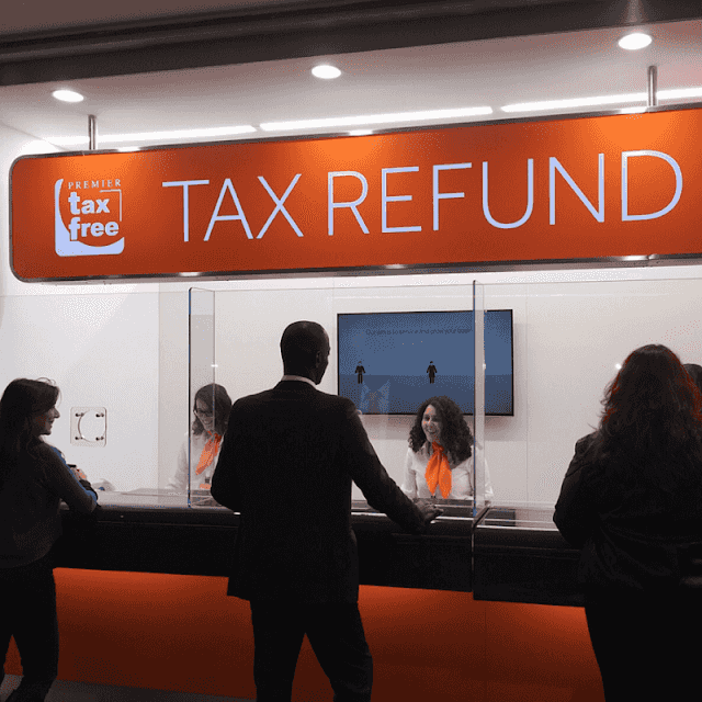 Tax Refund no aeroporto