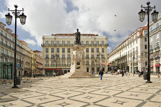 Praça Luís de Camões - Bairro Chiado