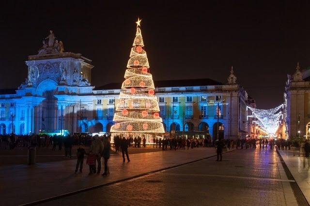 Época de Natal em Lisboa