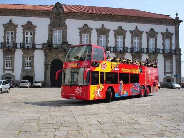 Ônibus turístico do Porto