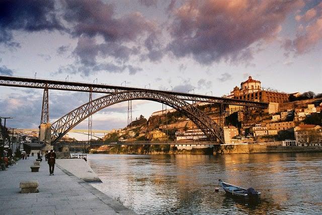 Ponte D. Luís no Porto - Ribeira