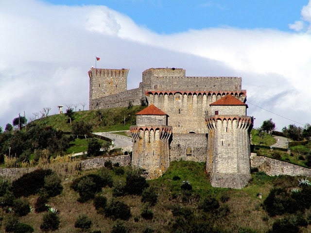 Castelo de Ourém em Portugal