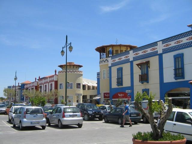 Fachada do Algarve Shopping