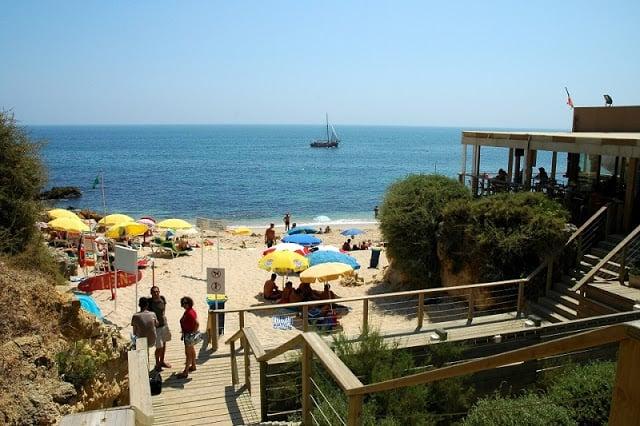 Restaurante Praia da Coelha em Albufeira