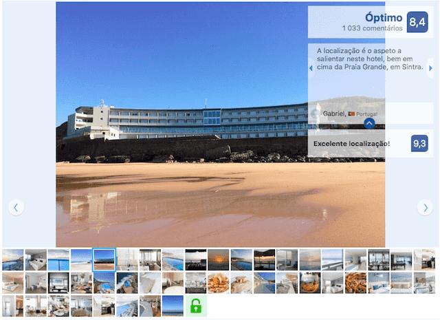 Hotel Arribas em Sintra