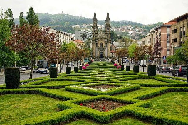 Cima e temperatura em Guimarães