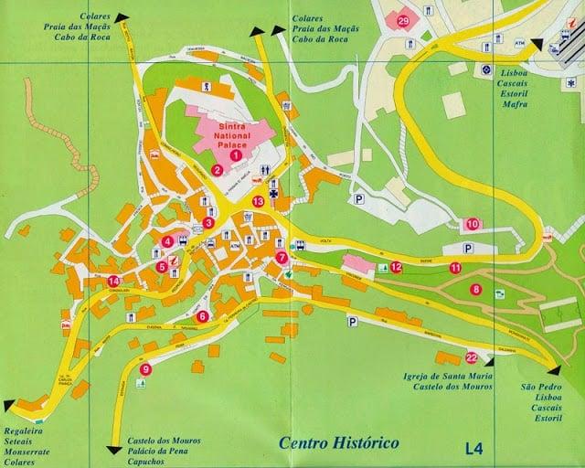 Mapa Turistico Lisboa Pdf.Mapa Turistico De Sintra 2019 Dicas De Lisboa